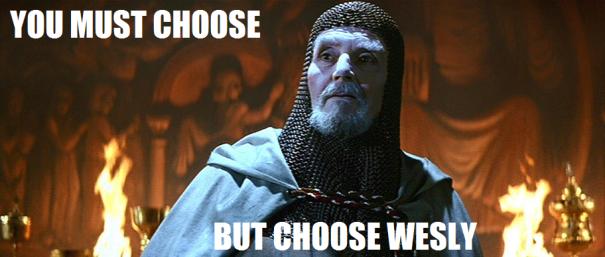 Choose Wesley