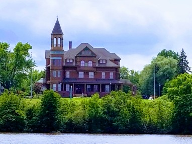 House on Lake Superior
